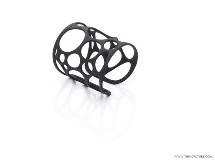 Voronoi bracelet (SMALL) 3d printed