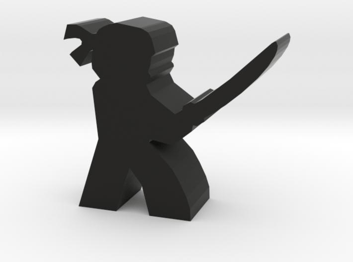 Game Piece, Ninja with sword 3d printed