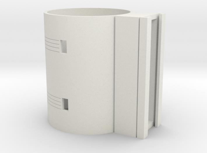 MHS compatible Lightsaber activation box 3d printed