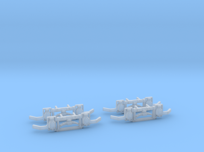 Brill 27g Truck Side Frames 1:87 3d printed