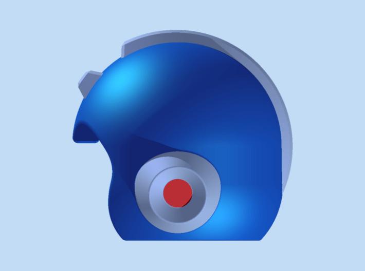 Mega Helmet 3d printed Render