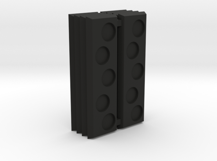 Strip base staggered holes 3d printed