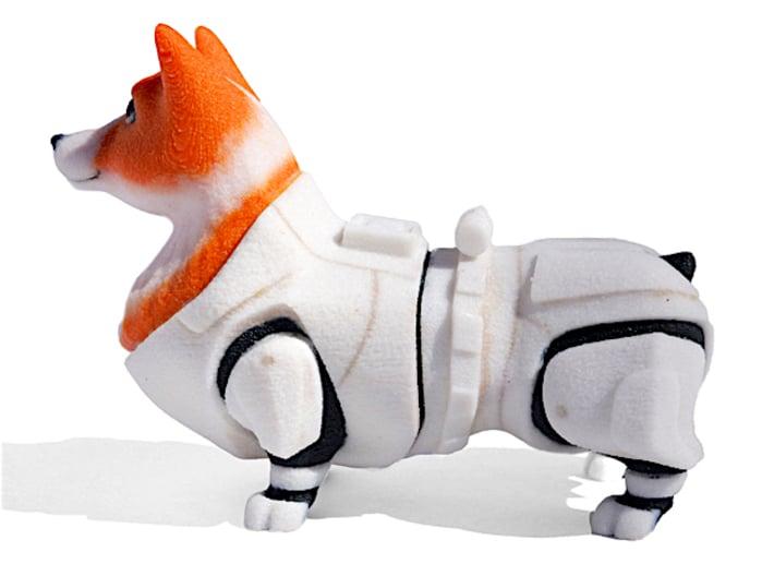 Storm Trooper Corgi 3d printed