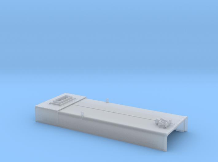 DB0009 SD40-2W ERH, Low Stk, Rblt 1/87.1 3d printed
