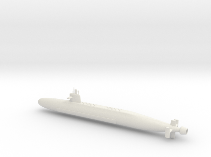 1/600 Le Triomphant Class SSBN 3d printed