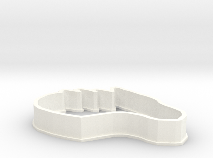 Dragon-Horse Cookie Cutter 3d printed