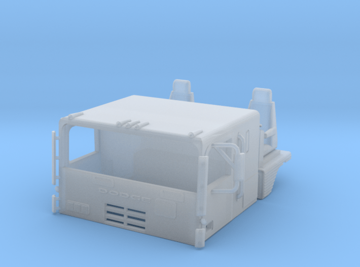 1/64th S Scale Dodge Cabover 3d printed