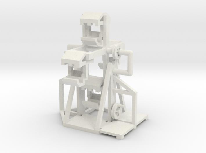Mittelalter Riesenrad - 1:160 (N scale) 3d printed