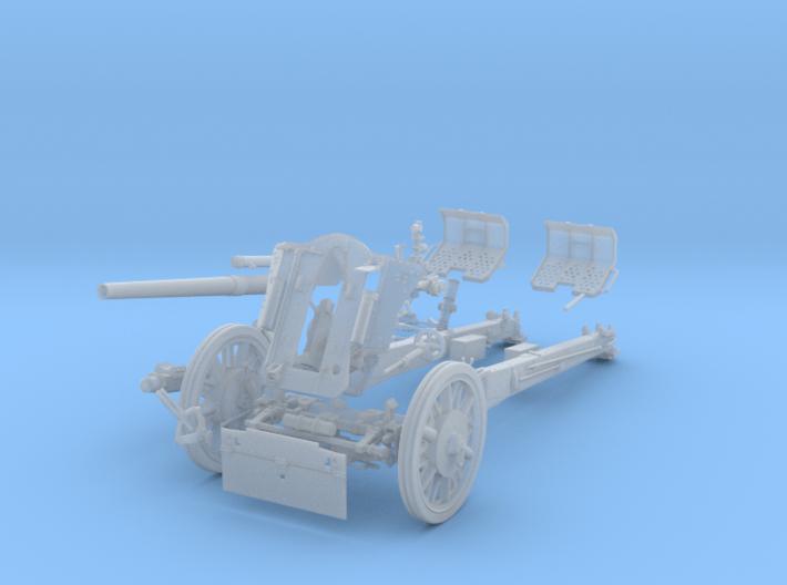 """GA001 leFH 18 """"Howitzer"""" 10.5 cm 28mm wargames 3d printed"""