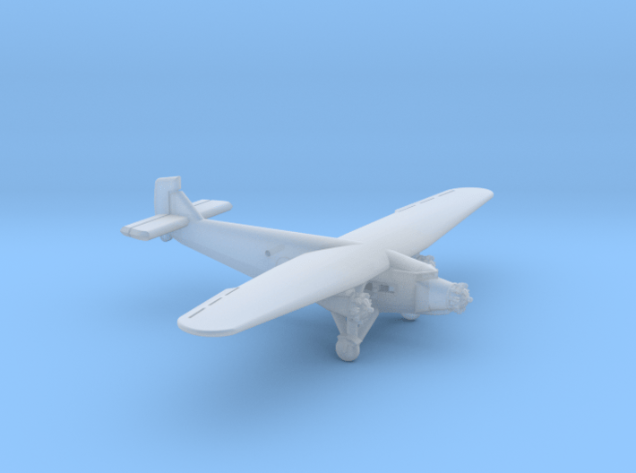 Ford 5-A-TC Trimotor 1/285 Scale 3d printed