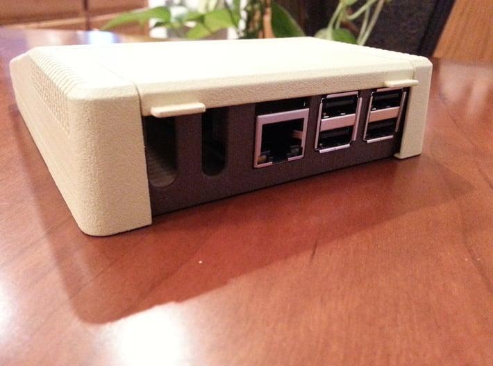Apple IIe Platinum Raspberry Pi Enclosure SHELL 3d printed