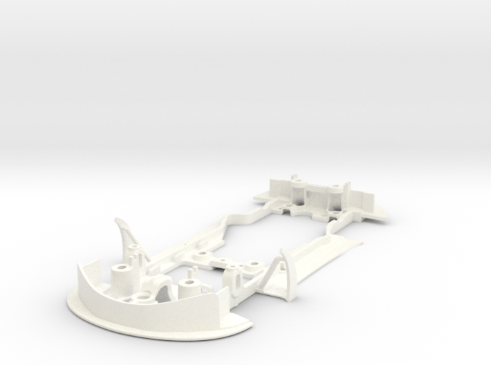 S09-ST3 Chassis for Scalextric McLaren GT3 SSD/LMP 3d printed