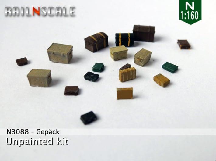 Gepäck (N 1:160) 3d printed