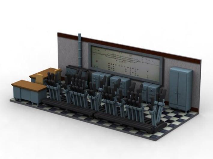 NPE10 Signal Box 3d printed
