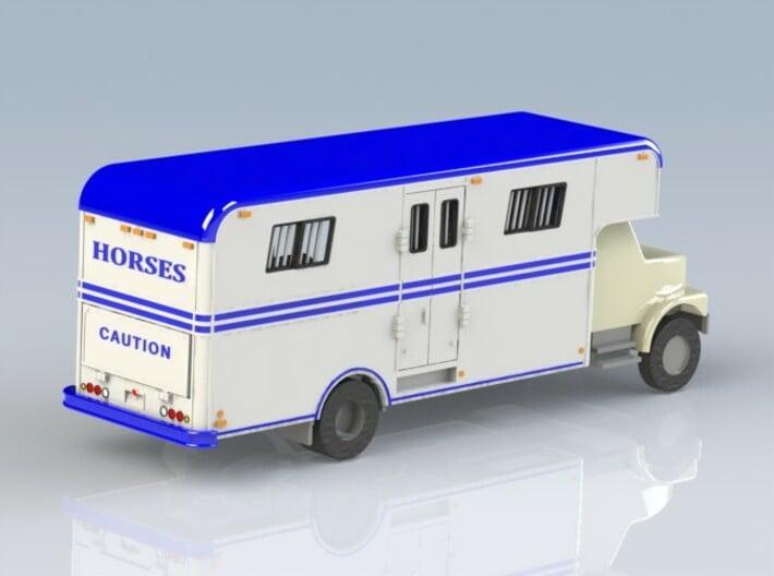 HO 1/87 Horsebox 1978 Imperatore 6, International  3d printed