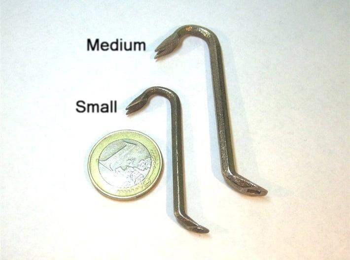 Keychain Mini Crowbar Tool - Small 3d printed