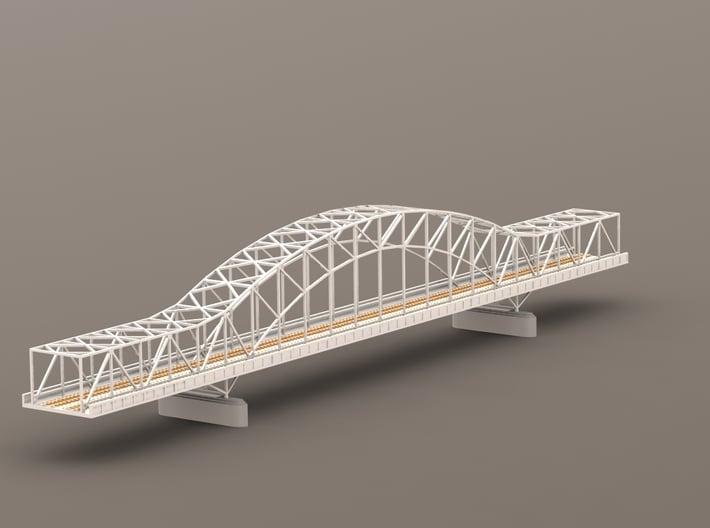 German Remagen / Ludendorff Railway-Bridge 1/285 3d printed