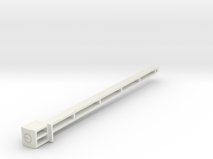 Power Button compatible to Amiga 4000 3d printed