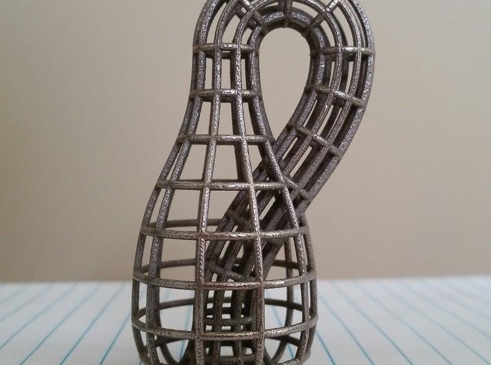 Klein Bottle Wireframe 3d printed