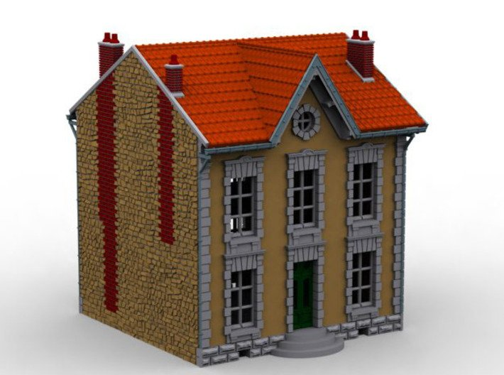 NVPP02 - Suburban house 3d printed