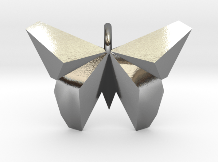 Origami Butterfly 3d printed