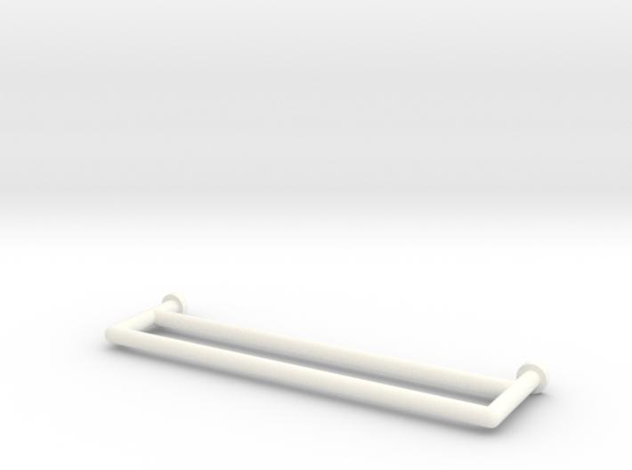 Towel Rail Double 1:12 3d printed