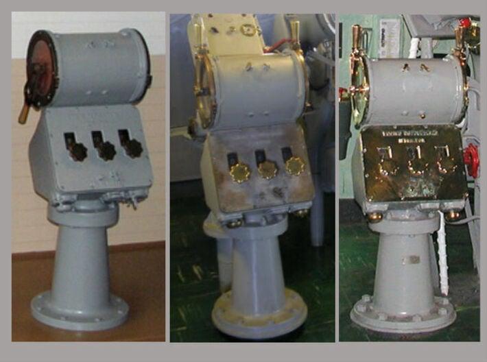 1/18 USN Ship's Engine Order Telegraph 3d printed