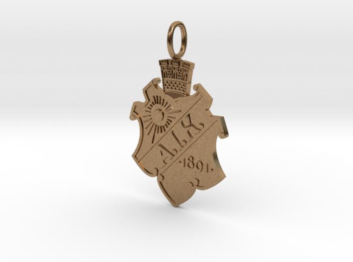 Gnaget-pendant 3d printed