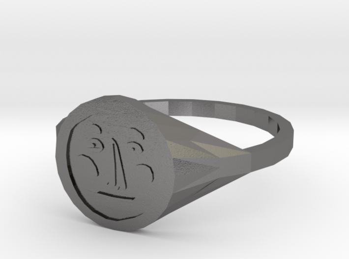 Signet Face v01 M 3d printed
