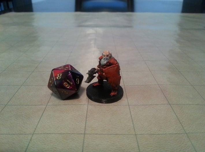 Dwarf Veteran 3d printed