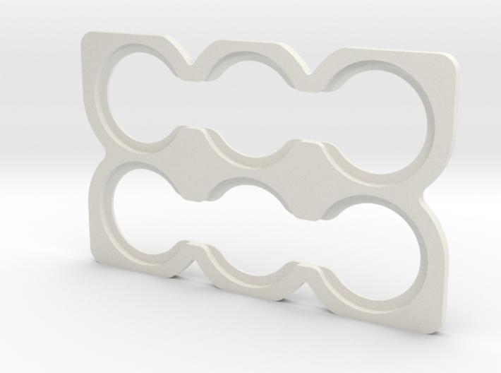 Quarters Card (for Sliminal) 3d printed