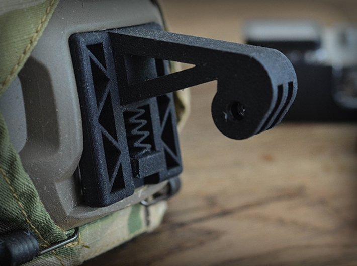 Wilcox NVG Mount for GoPro Camera Hero 2, 3, and 4 3d printed Fan Photo by: op_airsoft