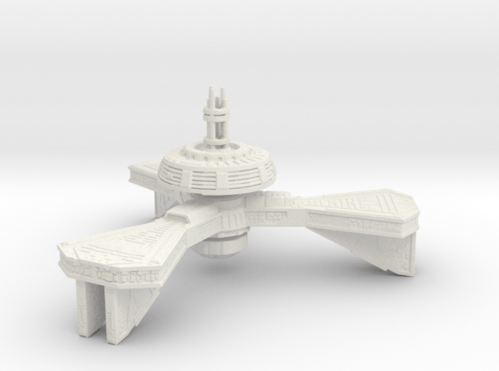 Space Station High Detail 3d printed