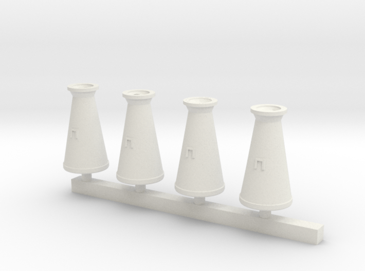 Concial Milk Churn 7mm scale O gauge 3d printed