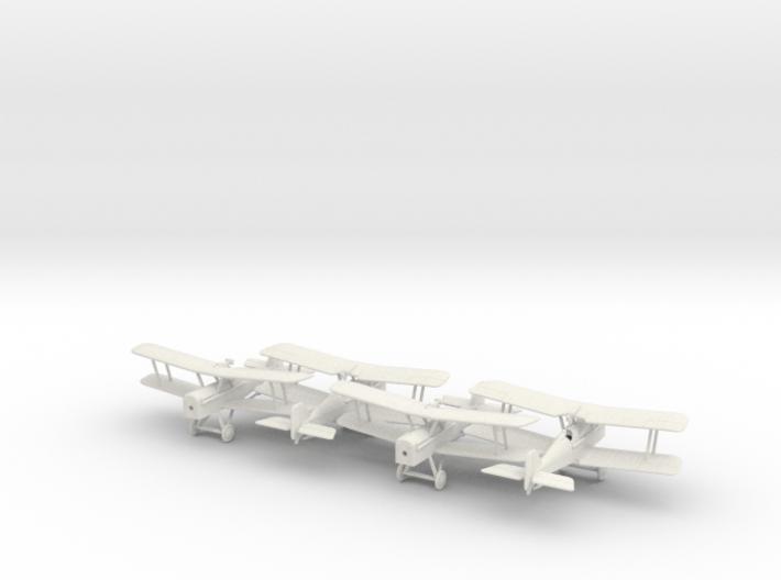 1/144 RAF SE-5 x4 3d printed