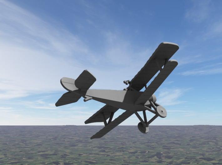 Nieuport 11 3d printed Computer render of 1:144 Nieuport 11