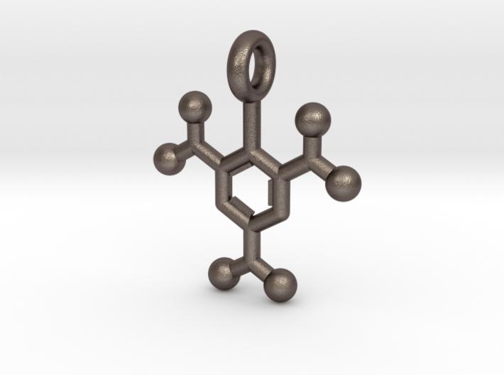 TNT, Trinitrotoluene Key chain 3d printed