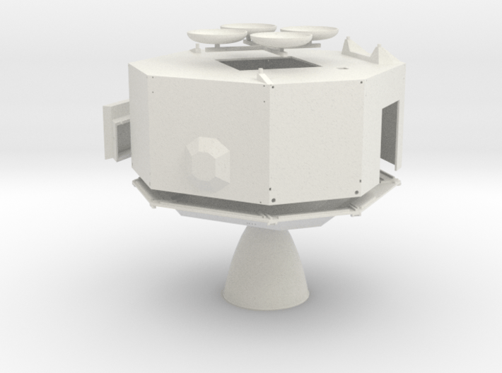 A11, 12 & 14-WSF-Descent Stage-Detailed MESA 3d printed