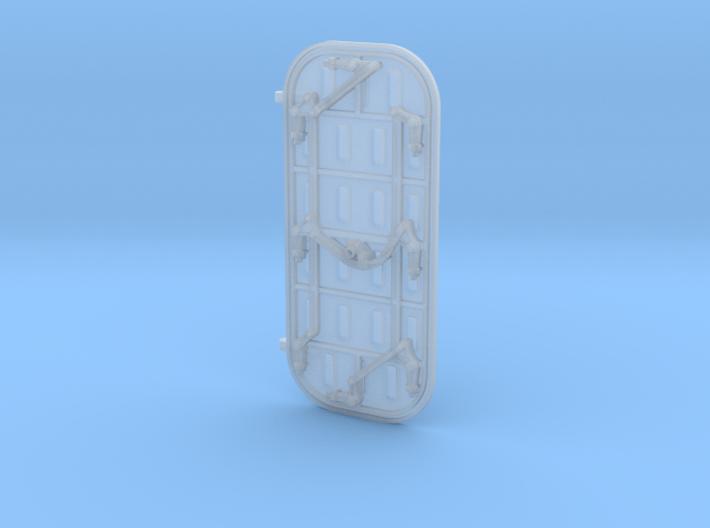 1/45 Scale ship door 3d printed