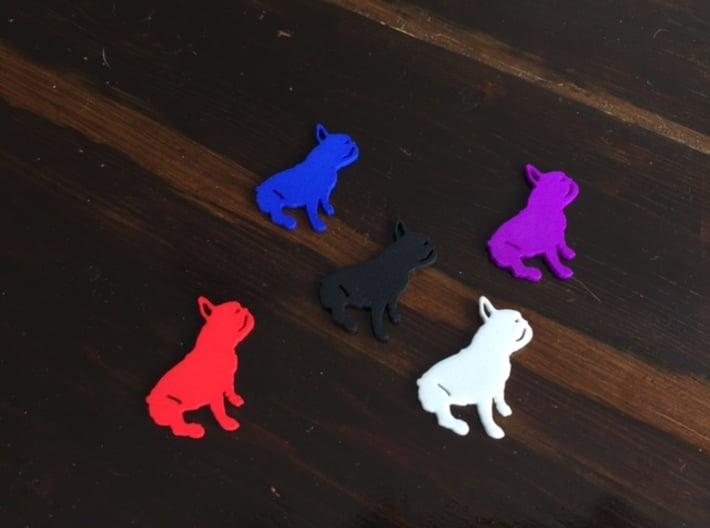 French Bulldog 3d printed