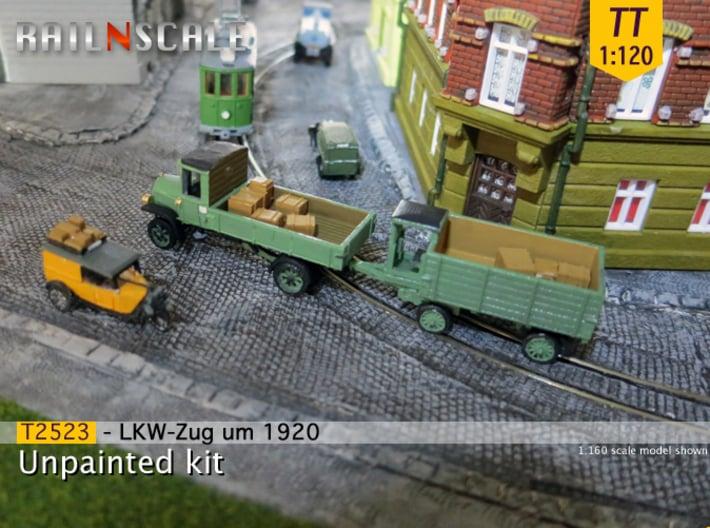 SET LKW-Zug um 1920 (TT 1:120) 3d printed