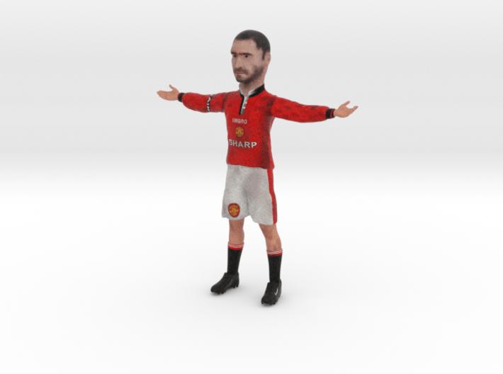 Eric Cantona Figurine ManU Kit 3d printed