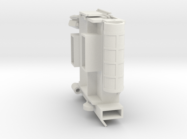 29-J mission - simple open MESA 3d printed