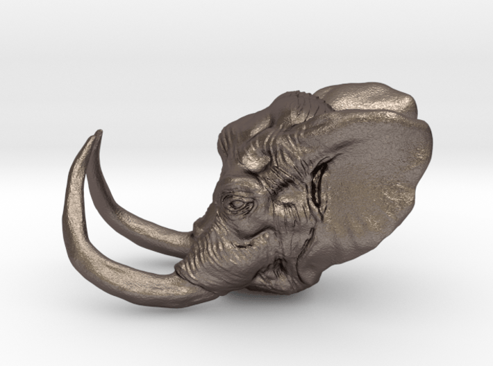 Elephant Ring Size 7 3d printed