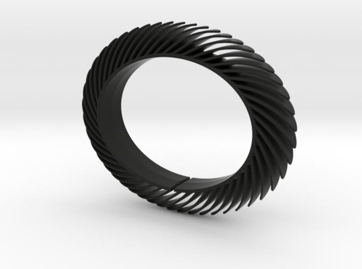 Blaadjesarmband-smal 3d printed