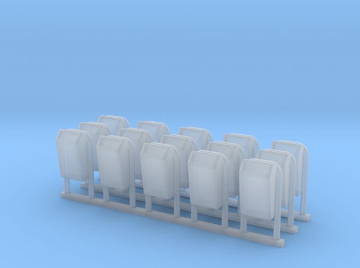 Prullenbakken (1:160) 3d printed