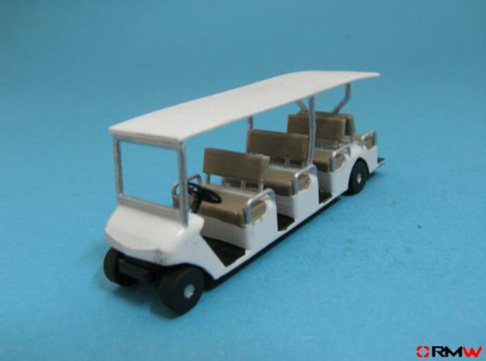 HO/1:87 Buggy 4 seating rows, kit 3d printed [en]painted and assembled [de]bemalt und gebaut