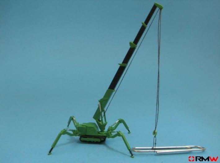 HO/1:87 Mini Crawler Crane Set B kit 3d printed [en]painted and assembled [de]bemalt und gebaut