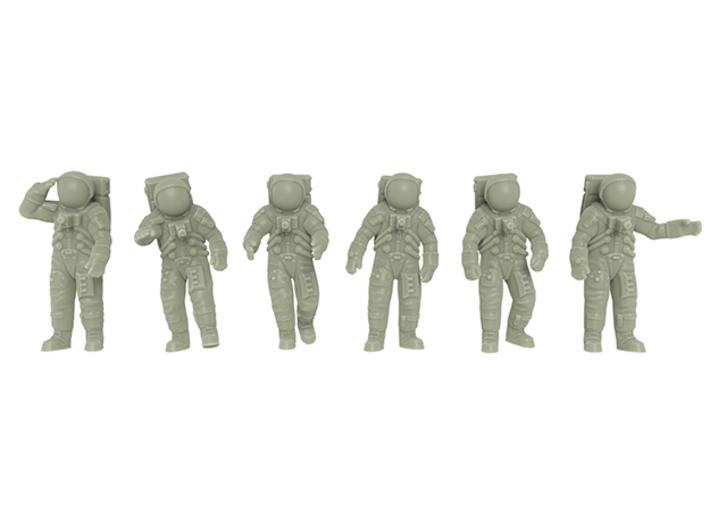 Apollo 11 Astronauts / 1:144 3d printed