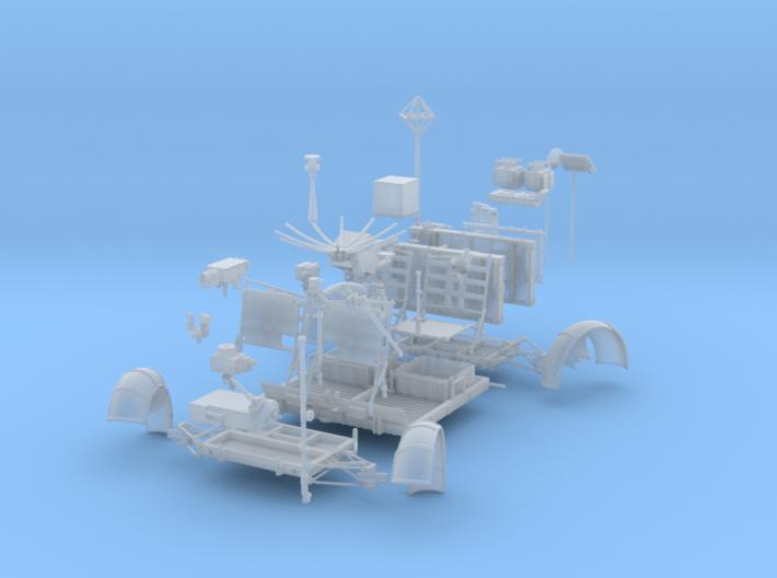 LRV Parts-left 3d printed